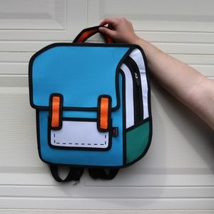 Jumpfrompaper style Backpack